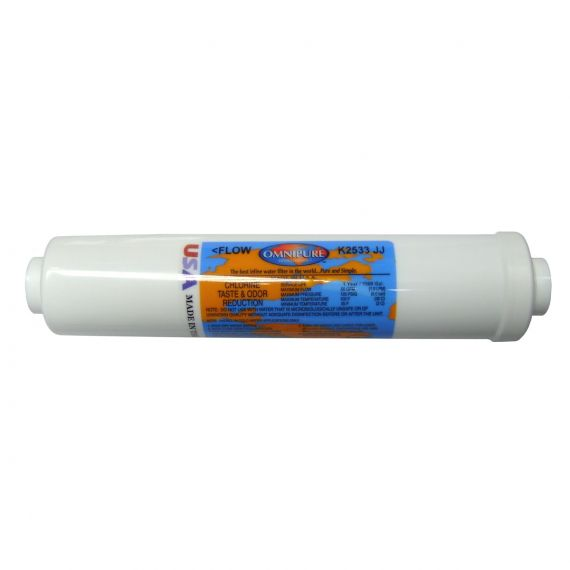 "Image for Omnipure GAC Inline Filter 10"" 1/4"" Pushfit"