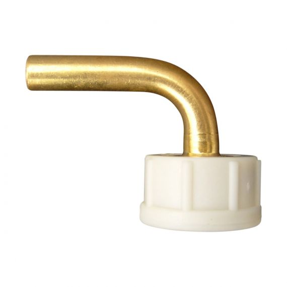 "Image for Reducing Elbow 3/4"" Female x 3/8"" Brass Stem Complete"