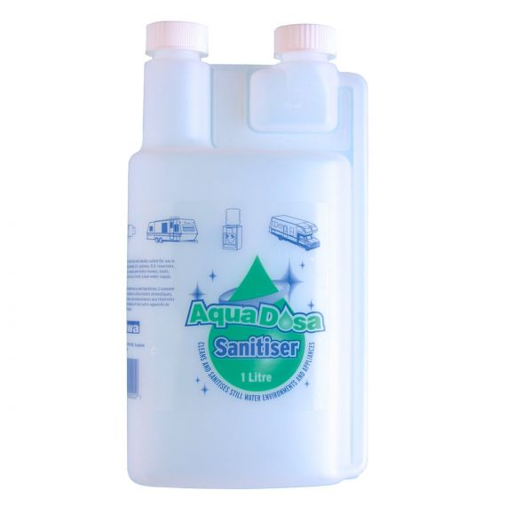 Image for Aqua Dosa Empty Twin Chamber Dosing Bottle 1 ltr
