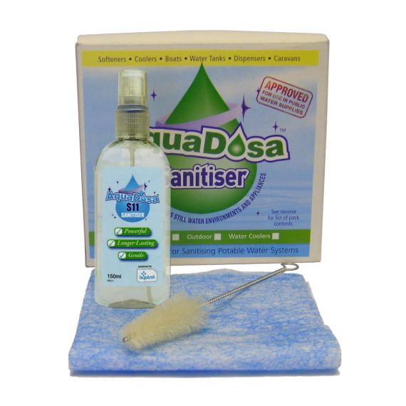 Image for Aqua Dosa Sanitising Kit - Spray, Brush & Cloth
