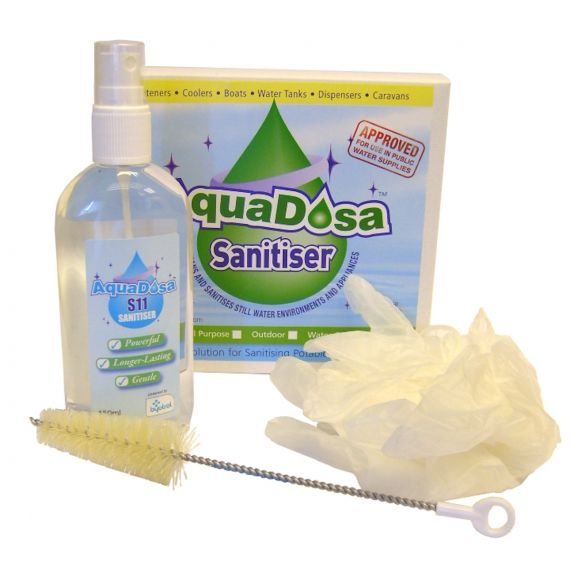 Image for Aqua Dosa S11 Sanitising Kit - Spray Brush & Gloves