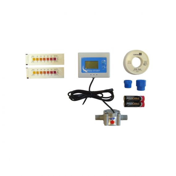"Image for Digital Water Meter & Test Kit 3/8"" BSPTM x 3/8"" Female"