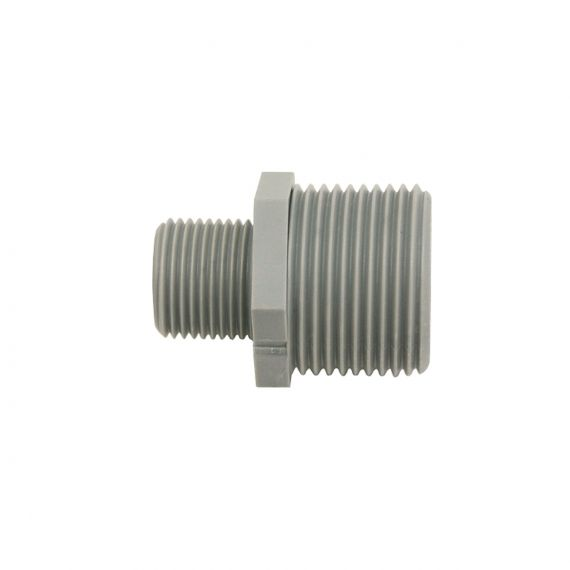 "Image for Adaptor 3/8"" M BSPT x 3/4"" M BSP (grey)"