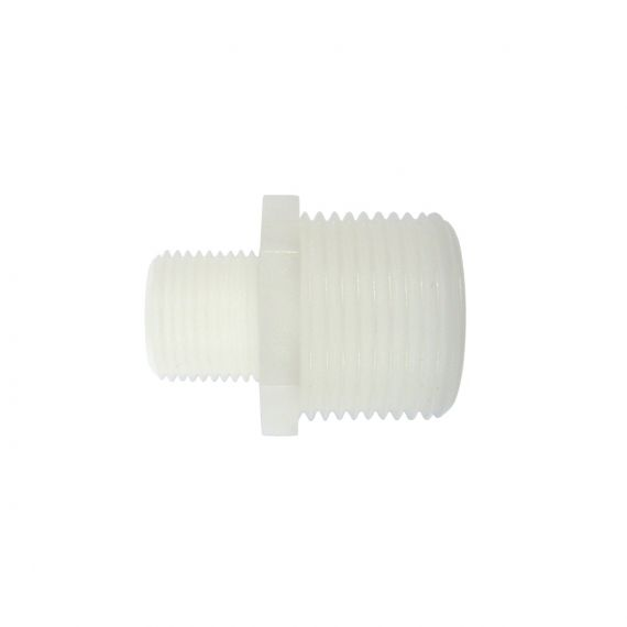 "Image for Adaptor 3/8"" M BSP x 3/4"" M BSP (white)"
