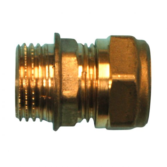 """Image for Compression Adaptor 1/2"""" BSP (taper) x 15mm comp."""