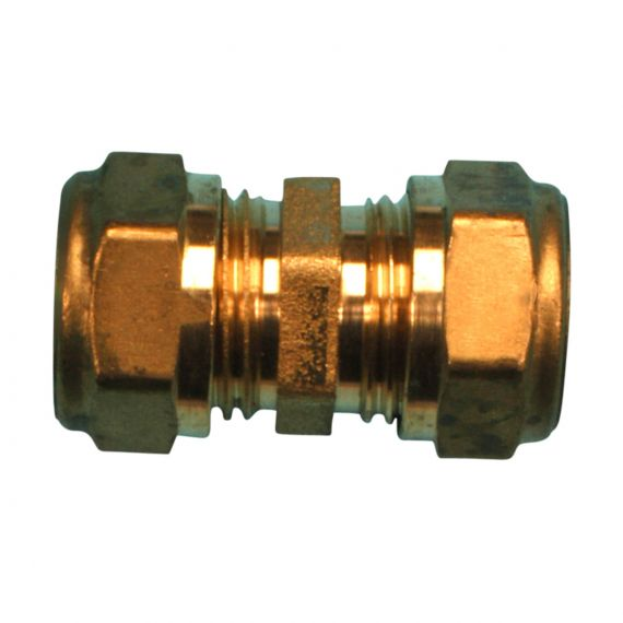 Image for Compression Straight 15mm x 15mm (Brass)