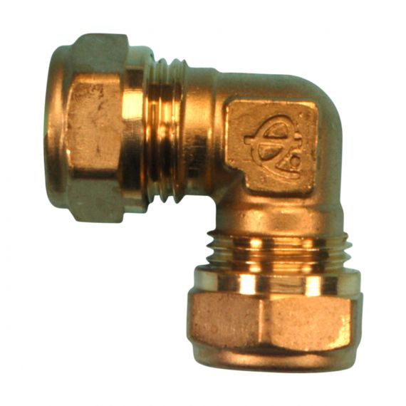 Image for Compression Elbow 15mm 90 deg. (Brass)