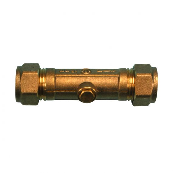 Image for Compression Double Non Return Valve 15mm