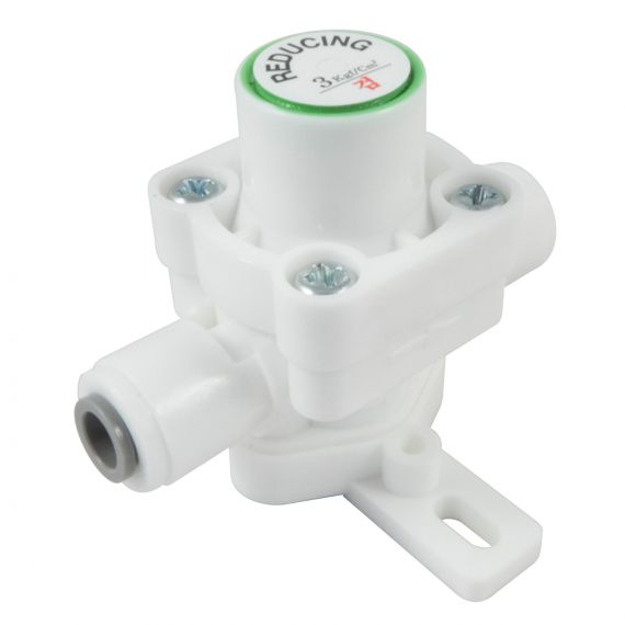 "Plastic Pressure Reducing Valve with Mount Bracket - 1/4"" PF"