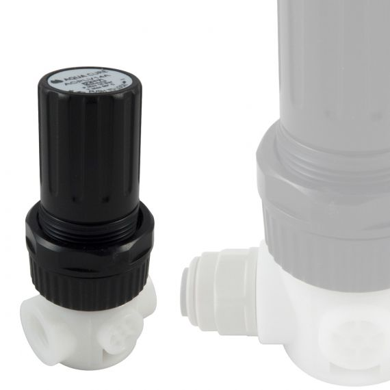 Plastic Pressure Reducing Valve - Adjustable Outlet Pressure