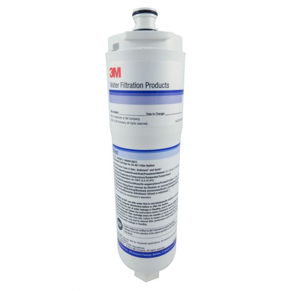 3M CS-51 Water Filter Cartridge with Scale Inhibitor