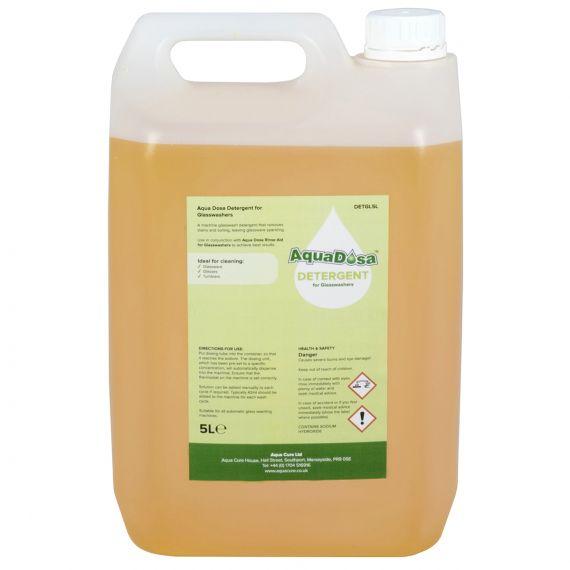 Aqua Dosa Glass Wash Detergent | 5 Litres