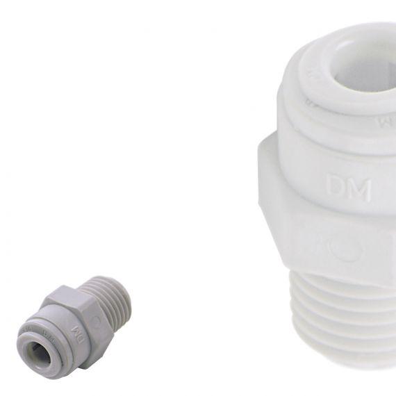 DM Fit | NPTF Male Adaptors | Plastic Push Fit