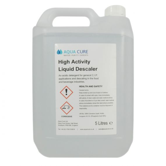 Image for High Activity Liquid Descaler - 2 x 5 litre drums