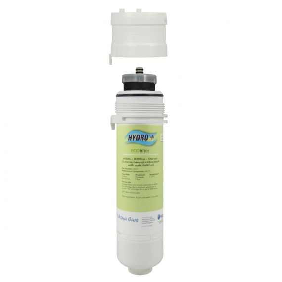 Hydro+ Eco Filter System Inc. 1 Micron Carbon Block with Scale Inhibitor