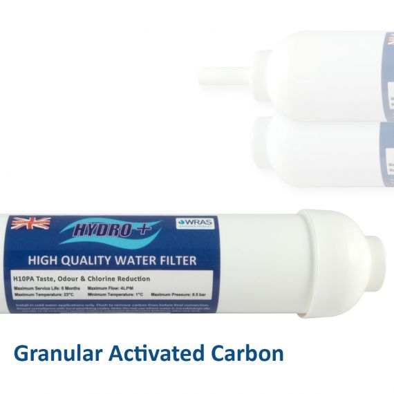 Hydro+ GAC Inline Water Filters