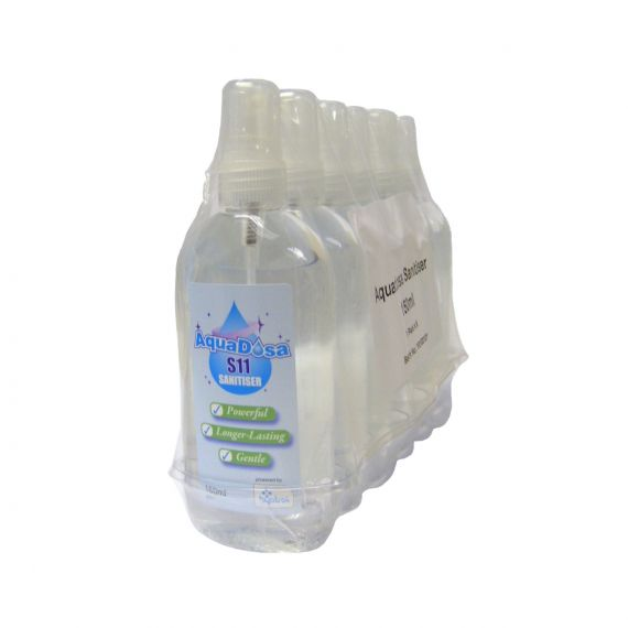 Image for Aqua Dosa S11 Sanitiser Spray 150ml Spray x 6