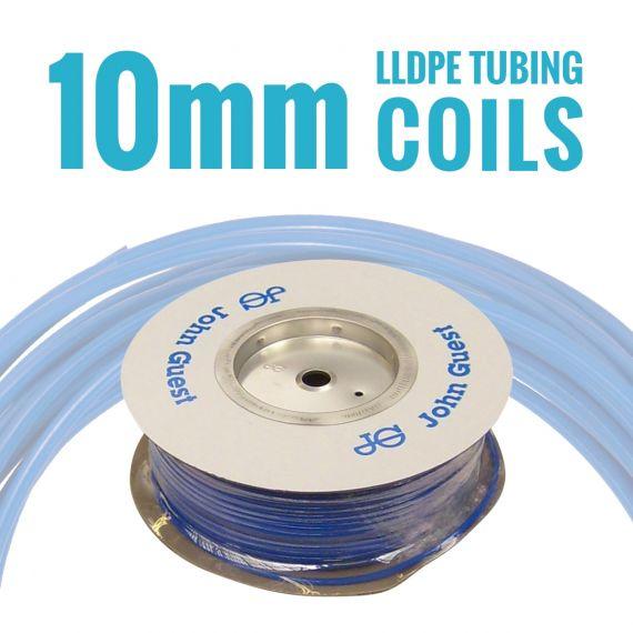 John Guest LLDPE Tubing Coils - 10mm