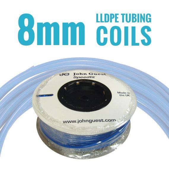 John Guest LLDPE Tubing Coils - 8mm
