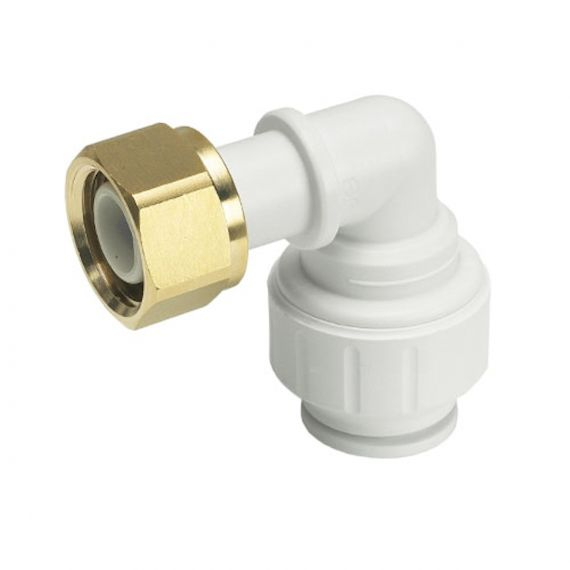 "JG Speedfit Bent Tap Connector | 15mm Push Fit x 1/2"" BSP Female"