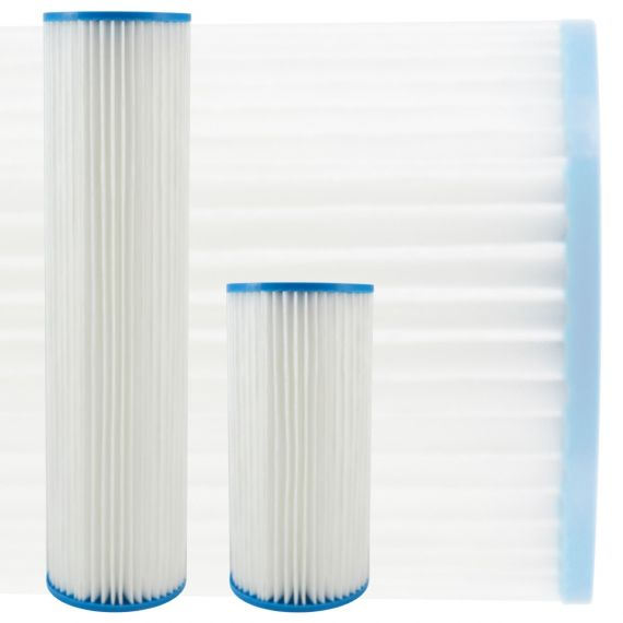 Pleated Cellulose Polyester Water Pre-filter Cartridges | Jumbo