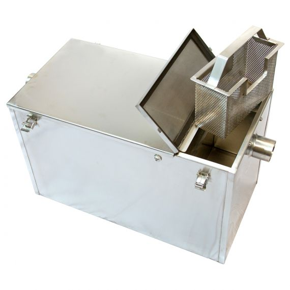 Passive (Manual) Grease Trap - 100 Litre