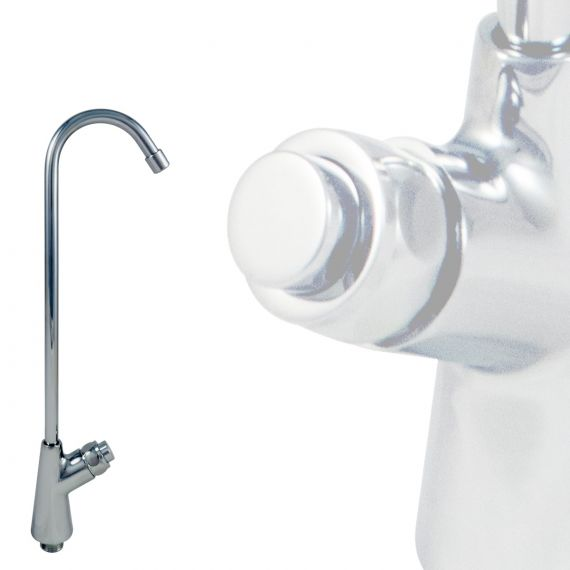 Push Button Tall Spout Drinking Fountain Taps