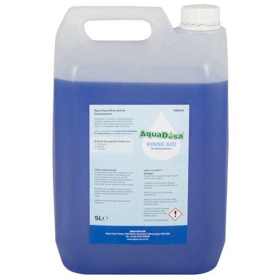 Aqua Dosa Glass Wash Rinse Aid | 5 Litres