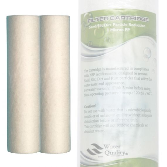 Spun Polypropylene Water Pre-filter Cartridges   Standard