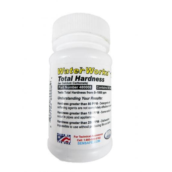 Image for Total Hardness Test Strip   0 - 1000 ppm Pack of 50