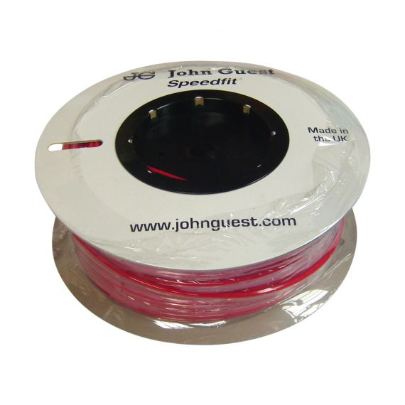 John Guest LLDPE Tubing - 10mm x 100m Coil - Red