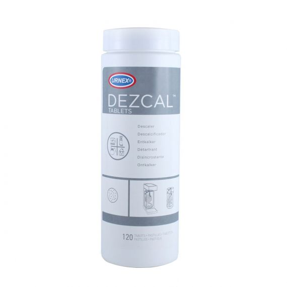 Urnex Dezcal Activated Scale Remover Tablets | 4g x 120