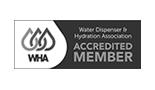 Water Dispenser and Hydration Association Logo