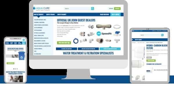 Aqua Cure launch New & Improved Trade website