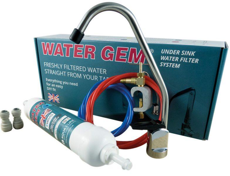 Watergem under sink water filter system