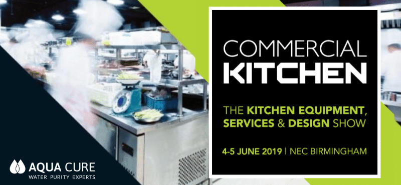 Aqua Cure to Exhibit at Commercial Kitchen 2019