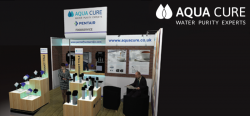 Aqua Cure European Coffee Expo Stand