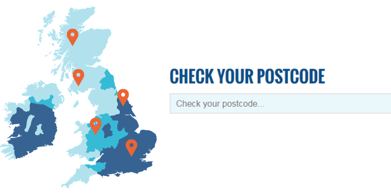 Hard Water Postcode Checker